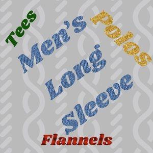Long Sleeved Men's Shirts